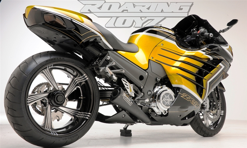 240 Wide Tire Single Sided Swingarm Conversion Kit For Kawasaki ...