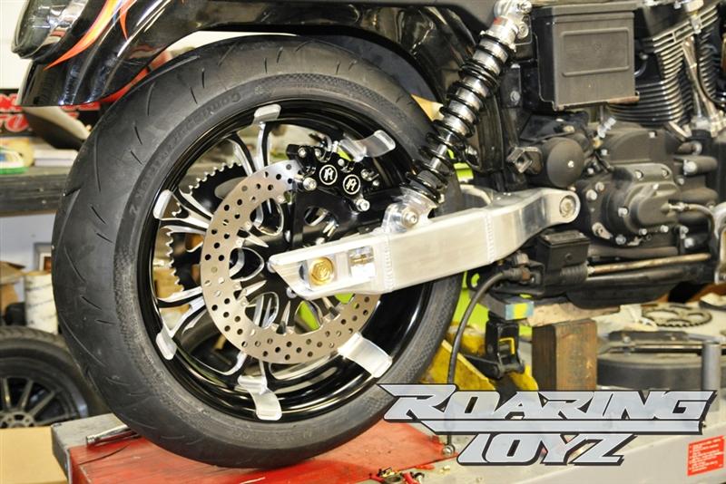 Harley Dyna Custom Aluminum Swingarm