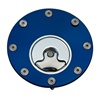 Yamaha Gas Cap Blue Anodized