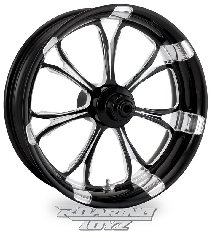 Paramount Black Anodized Forged Aluminum Performance Machine Custom