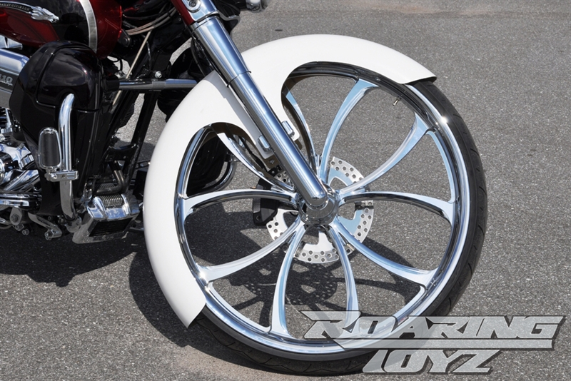 Wrap Style 30 Quot Fiberglass Front Fender For 23 Inch Front