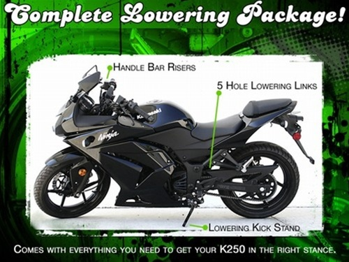 Ninja 250 Lowering Package Kit