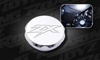 Chrome Billet Oil Fill Cap ZX Engraved