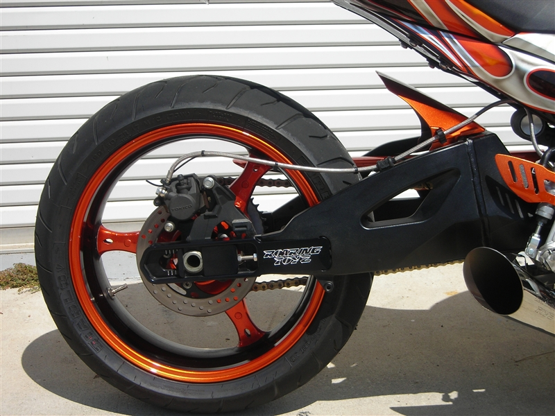 2004 Suzuki GSXR 1000 GSXR 1000 Swingarm Extension GSXR 1000 Frame Extension