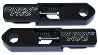 11-13 GSXR 600 750 Black Anodized Billet Bolt-On Swingarm Extentions