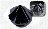 Spiked Arrow Head Oil Fill Cap Black Anodized Suzuki Fitment GSXR Hayabusa Katana SV 600 650 750 1000 1300 1340 Custom Billet 2013 2012 2011 2010 2009 2008 2007 2006 2005 2004 2003 2002 2001 2000 1999 1998 1997 1996 Clutch Cover Cap Screw Spike