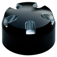 Fork Cap Set 30MM Black Anodized Contrast Cut