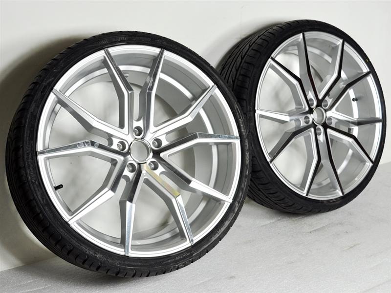 Custom Polaris Slingshot Performance Wheel Tire Package 22 Inch Wheels Style 30 22s Tires Wide 305
