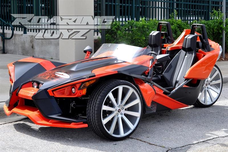 Custom Wheels For Polaris Slingshot 24 Inch Front 24 Inch Rear Wide