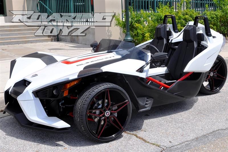 Polaris Sling Shot >> Custom 22 Wheel Tire Kit Fits Polaris Slingshot Style 35 22