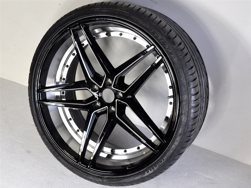 22 Inch Rim And Tire Package >> Custom 22 Wheel Tire Kit Fits Polaris Slingshot Style 37 22bm