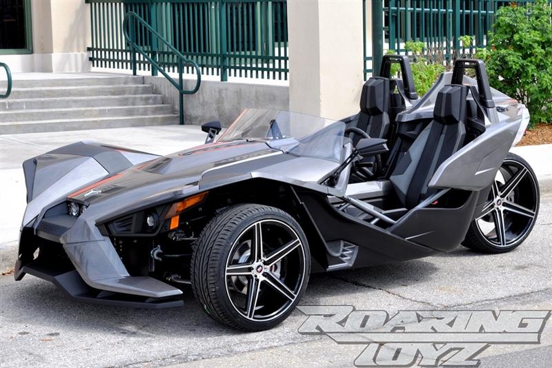 Custom Wheels For Polaris Slingshot 20 Inch Front 22 Inch Rear Wide