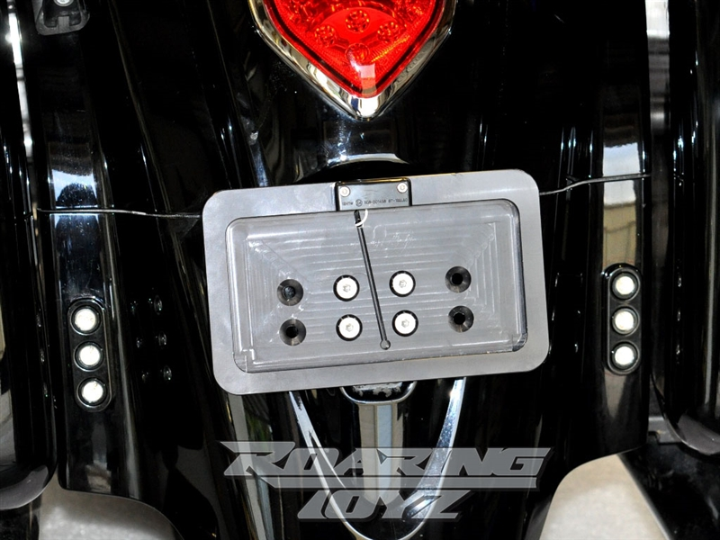Chrome Headlight Bracket For Kawasaki Vulcan Classic Nomad Voyager Vaquero 1700