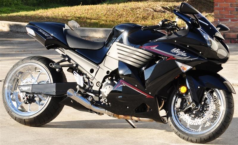 12-18 Kawasaki ZX14R VooDoo Polished Slip-On Exhausts Bolt On ...