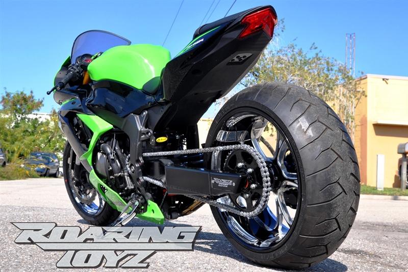 Zx636 240 Wide Tire Swingarm Conversion Kit Kawasaki Ninja Zx6r 2010