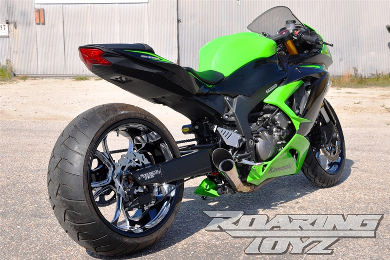 2013 2015 Zx636 Zx6r 240 Wide Tire Conversion Kit Click On Picture To Build Your Kit Price