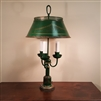 Three Light Tole Table Lamp