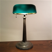 Emeralite Bankers Desk Lamp (sold)