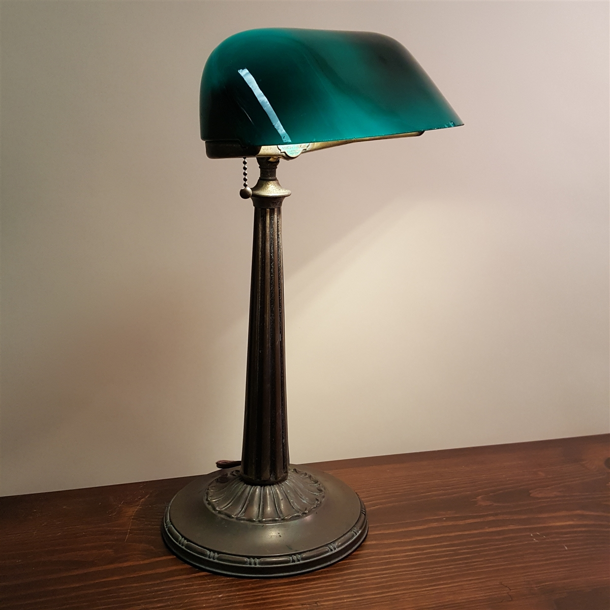 Emeralite bankers desk lamp sold mozeypictures Image collections