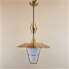 "Thomas Industries adjustable ""Moe Light"" ceiling light (SOLD)"