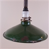 Distressed Vintage Green Enamel Shade
