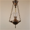 3 Chain Vintage Ceiling Light