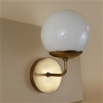Neckless Ball Wall Light