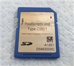 Ricoh 415483 PostScript 3 Option Type C5501 PS3 - Other part numbers D546-09 D5465009 D546-5009 - For use in Gestetner MP C3001 MP C3501 MP C4501 MP C5501 Lanier LD630C LD635C LD655C Ricoh MP C3001 MP C3501 MP C4501 MP C5501 Savin C9130 C9135 C9145 C9155
