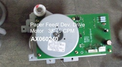AX060240 Motor - Developer,Paper Feed