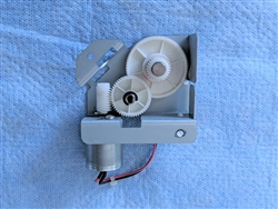 GENUINE RICOH M0281031 DC MOTOR ON OFF - OTHER PART NUMBERS M028-1031 - FOR USE IN GESTETNER MPC400 MPC300SR MPC300 MPC400SR LANIER LD140CSR LD130C LD130CSR LD140C RICOH AFICIOMPC300SR C300 C400 C400SR SAVIN C230SR C230 C240