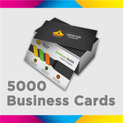 5000 Full Color Business Cards