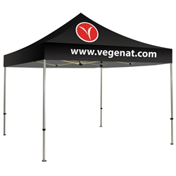 Canopy Tent 10 Ft. 2 Color Logo Graphic Package