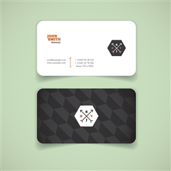 Full Color Business Cards with Rounded Corners