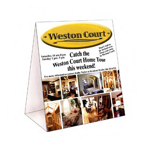 full color table tent cards fast