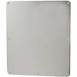 One Piece Security Mirror - Frameless Exposed Mounting