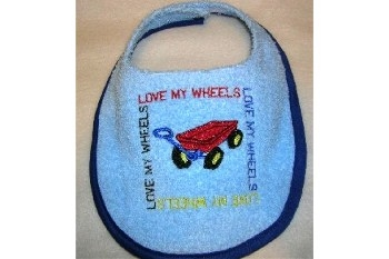 Embroidered Bibs - Clearance