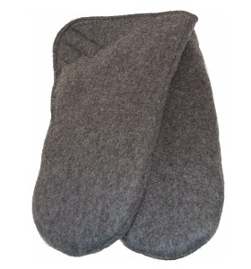 Flapped Thumb-less Mittens - Adult
