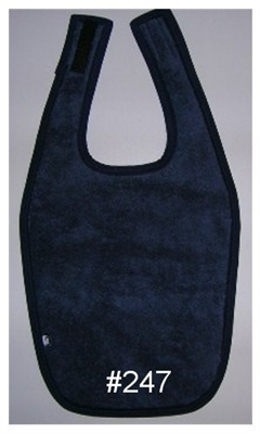 Bib with Velcro and without Waterproof Back