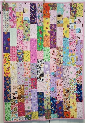 Gramma's Cotton Scrappy Quilt