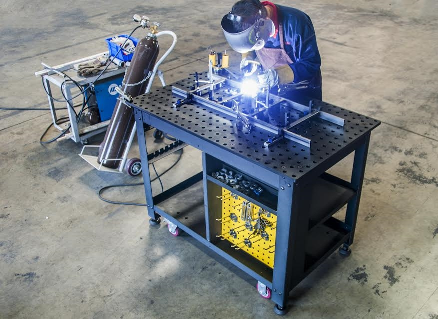 Rhino Cart All Inclusive Welding Table And 66 Pc Tooling Kit