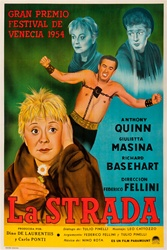 La Strada Original Argentine One Sheet