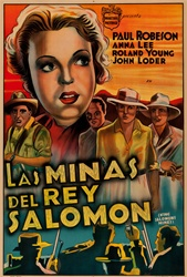 King Solomon's Mines Original Argentine One Sheet