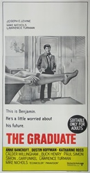 The Graduate Original Australian Three Sheet