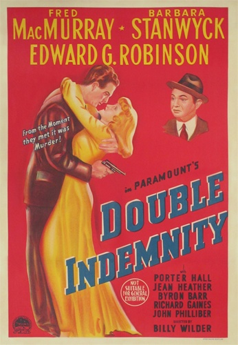 double indemnity original australian one sheet vintage