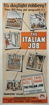 Italian Job Original Australian Daybill