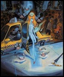 Glenn Barr Birth of Venus on Ave. B Limited Edition Print