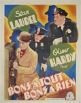 Midnight Patrol Original Belgian Movie Poster