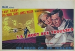 North by Northwest Original Belgian Movie Poster