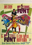 In Like Flint Belgian Movie Poster