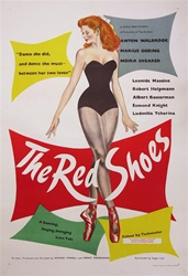 Original British One Sheet The Red Shoes